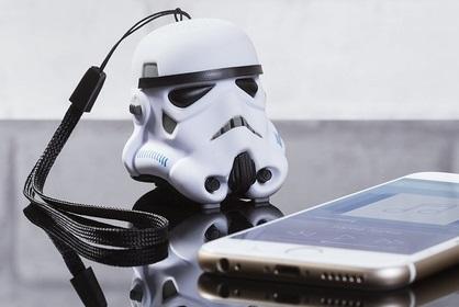 Mini Stormtrooper speaker