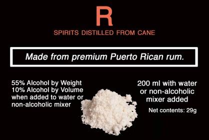 Powdered alcohol