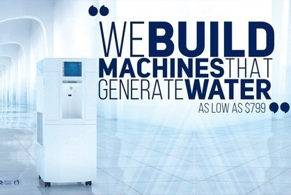 EcoloBlue: Make Water from Thin Air