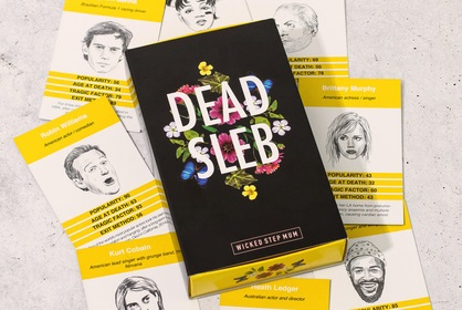 Dead Slebs Card Game
