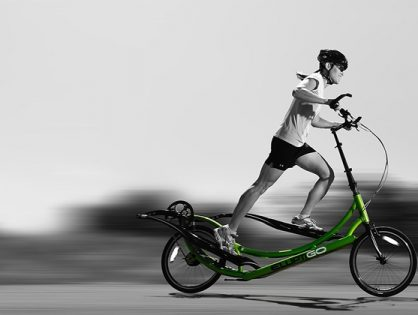 ElliptiGO The World's First Outdoor Elliptical Bike
