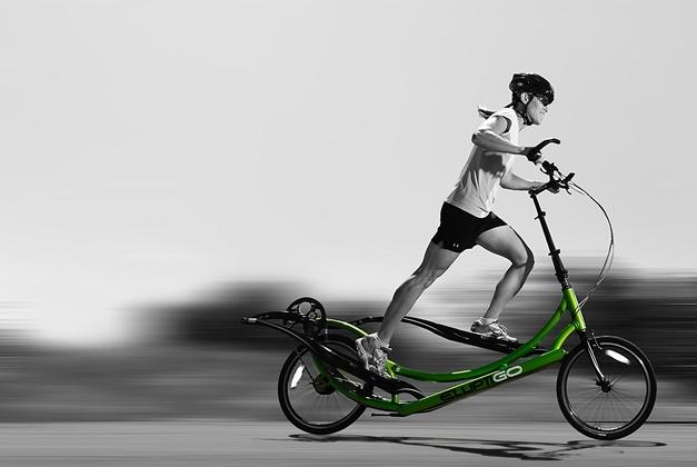 ElliptiGO The World's First Outdoor Elliptical Bike