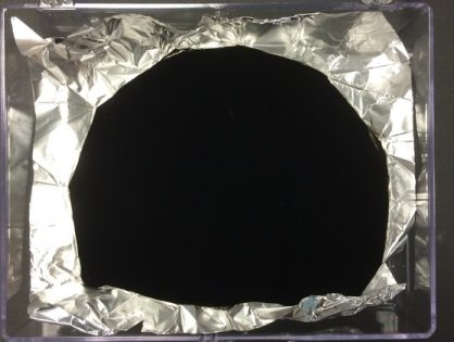 "The world's darkest color: ""Vantablack"""