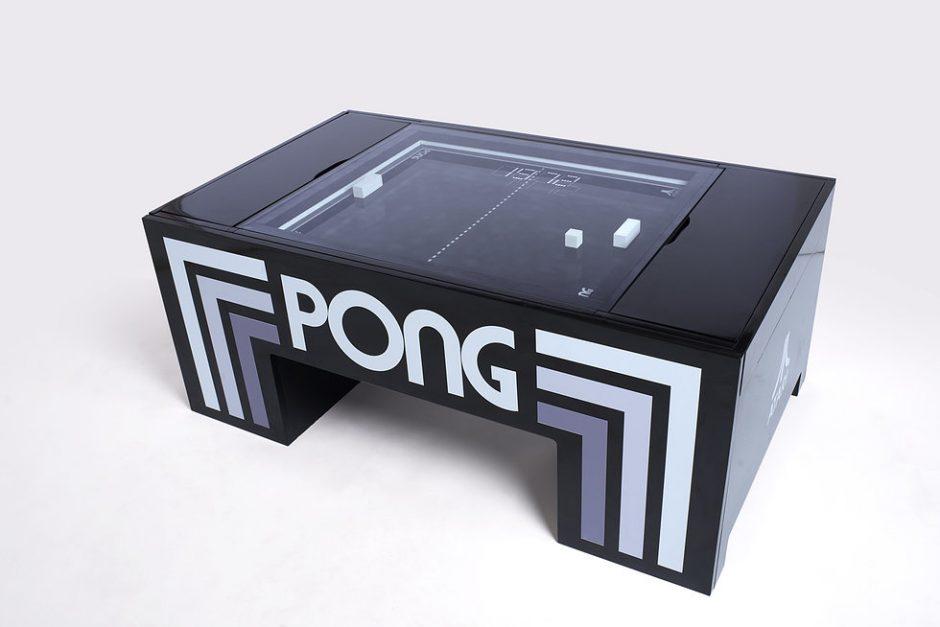 The Mechanical Atari Pong Table