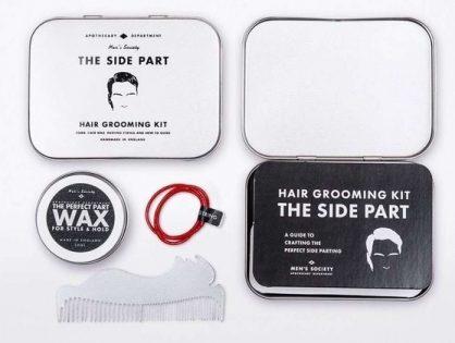 Men's Society Side Part Hair Kit