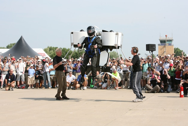 The World's First Jet pack