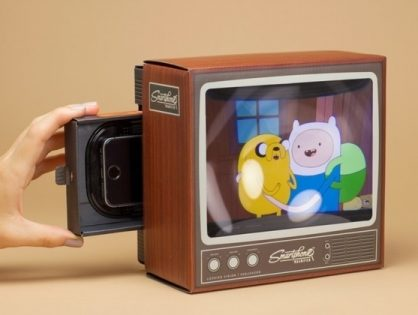 Retro Smartphone Magnifier