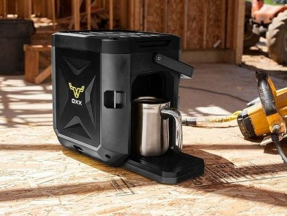 "The ""OXX CoffeeBox"" is One Tough Coffee Machine"