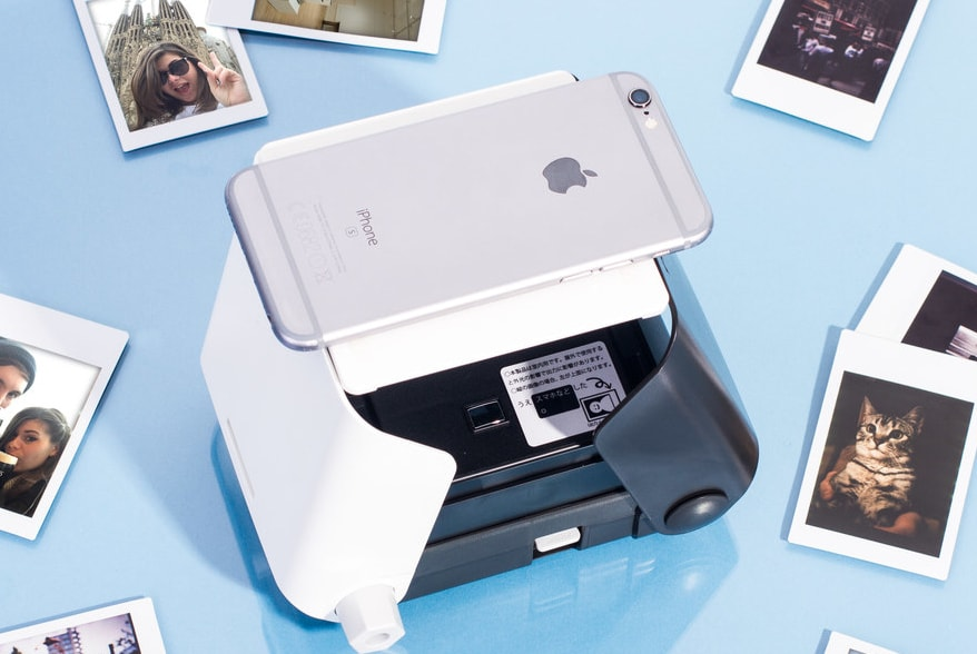 The KiiPix Smartphone Photo Printer