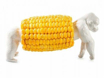 """King Corn"" Corn Holder"