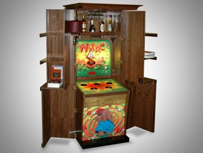Personally Customized Whac-a-Mole Machine