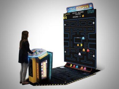World's Largest Pac Man Arcade Game