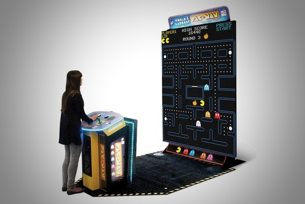 World's Largest Pac Man Arcade Game