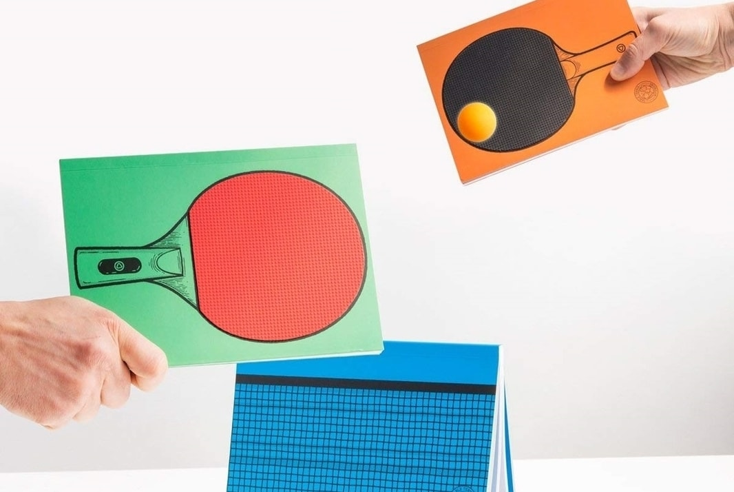 Ping Pong Notebooks