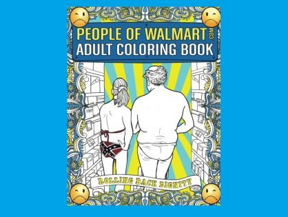 People of Walmart Coloring Book