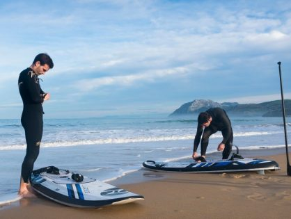 Electric Powered Surfboards