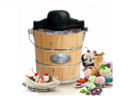 Make Ice Cream in a Wooden Bucket